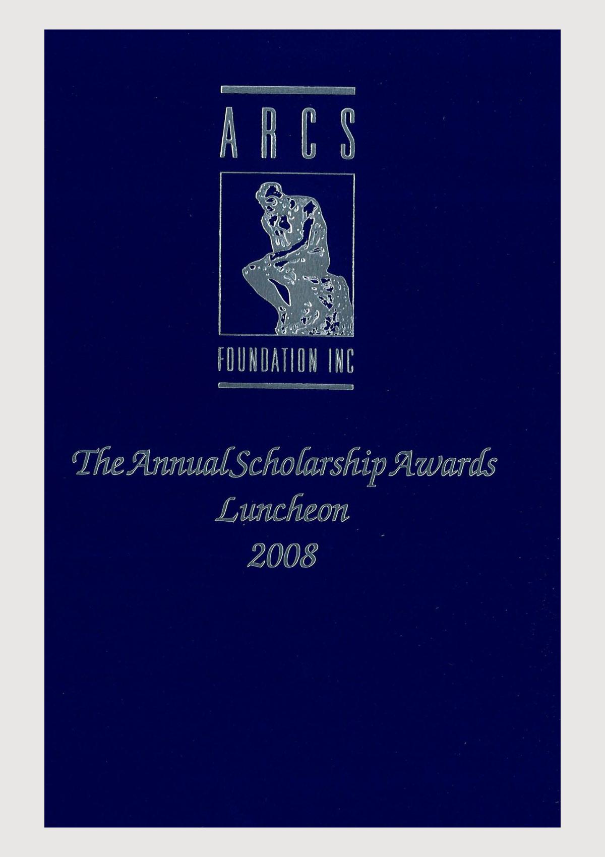 Scholar Yearbook – 2008