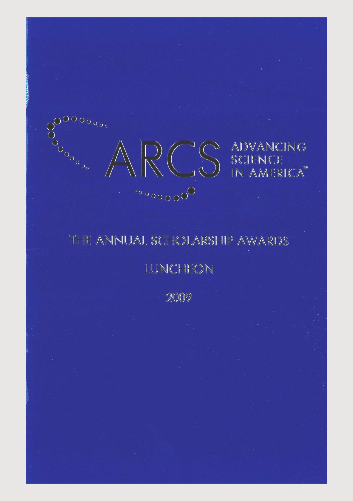 Scholar Yearbook – 2009