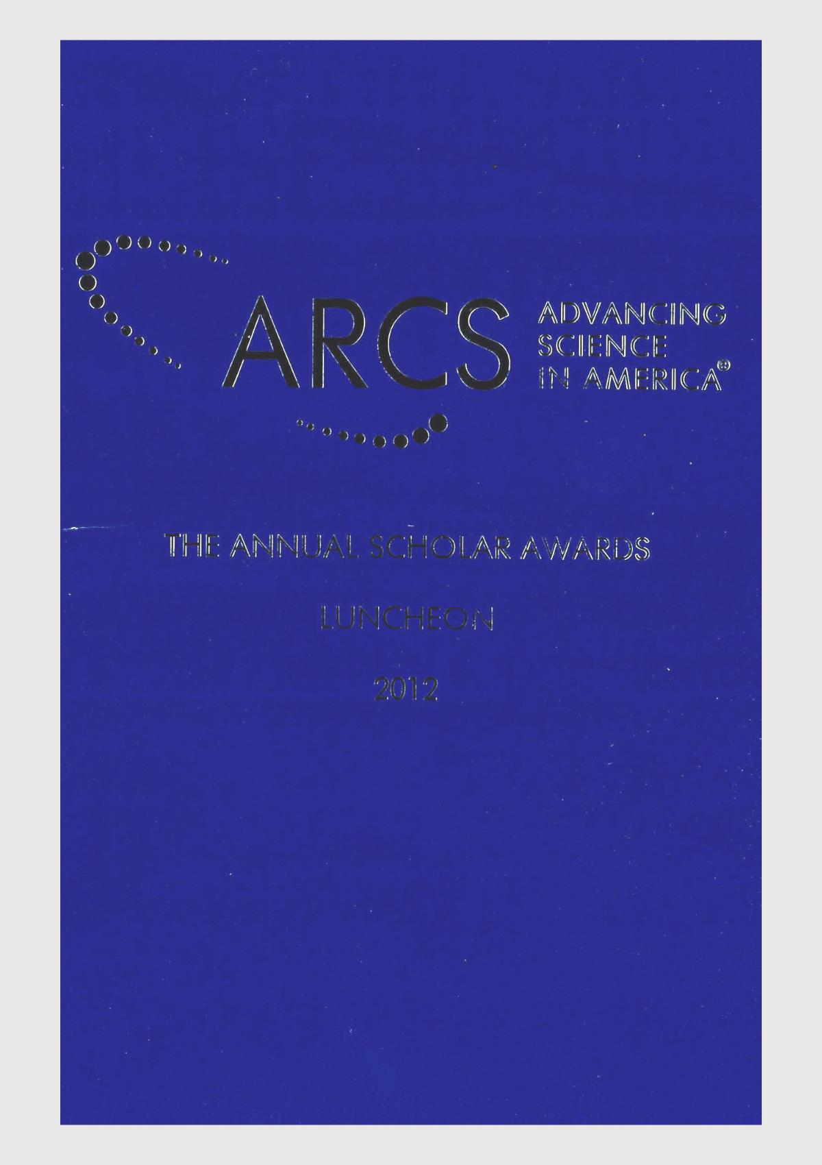 Scholar Yearbook – 2012