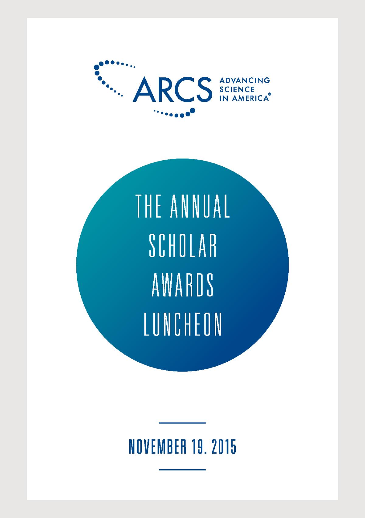 2015 Scholar Yearbook