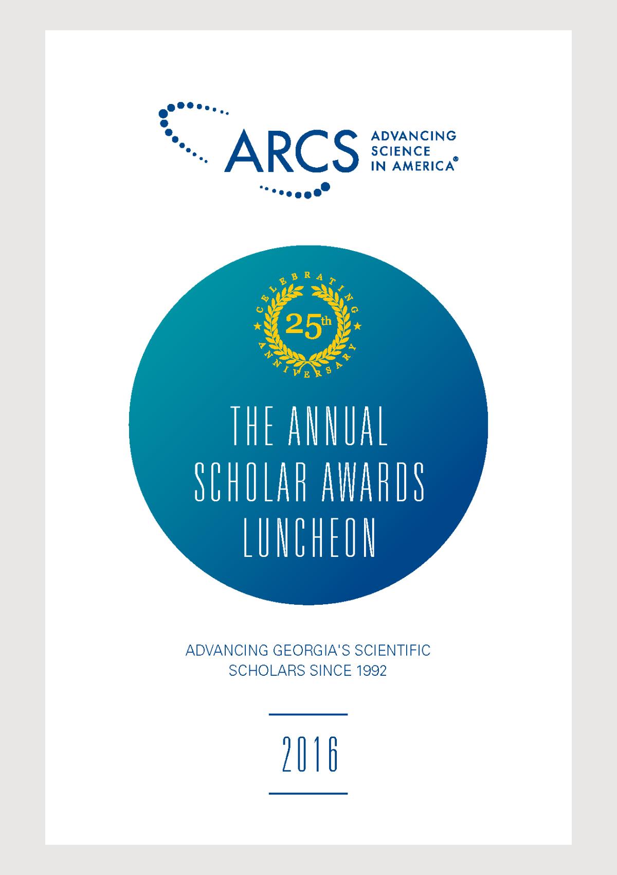 2016 Scholar Yearbook
