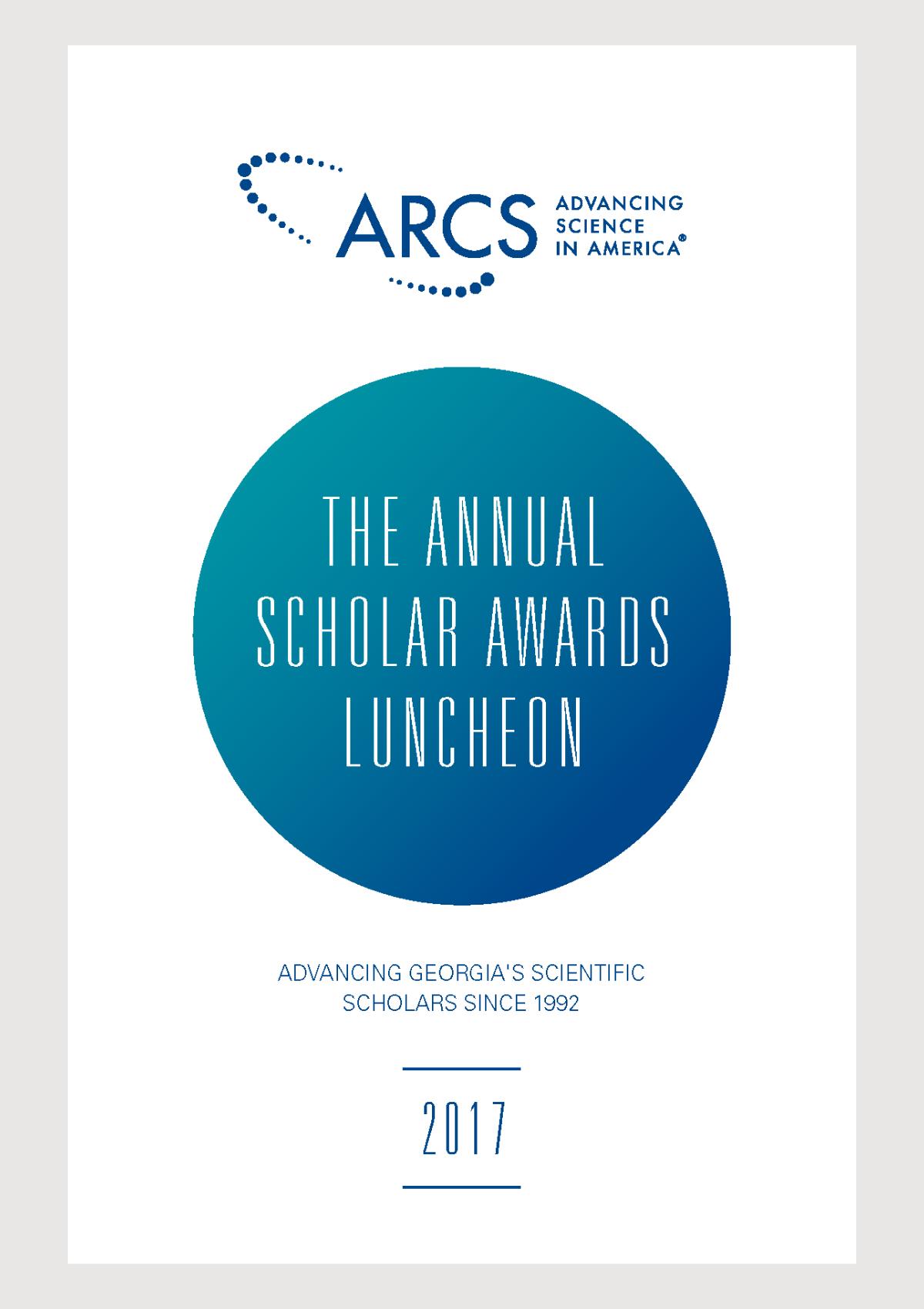 2017 Scholar Yearbook