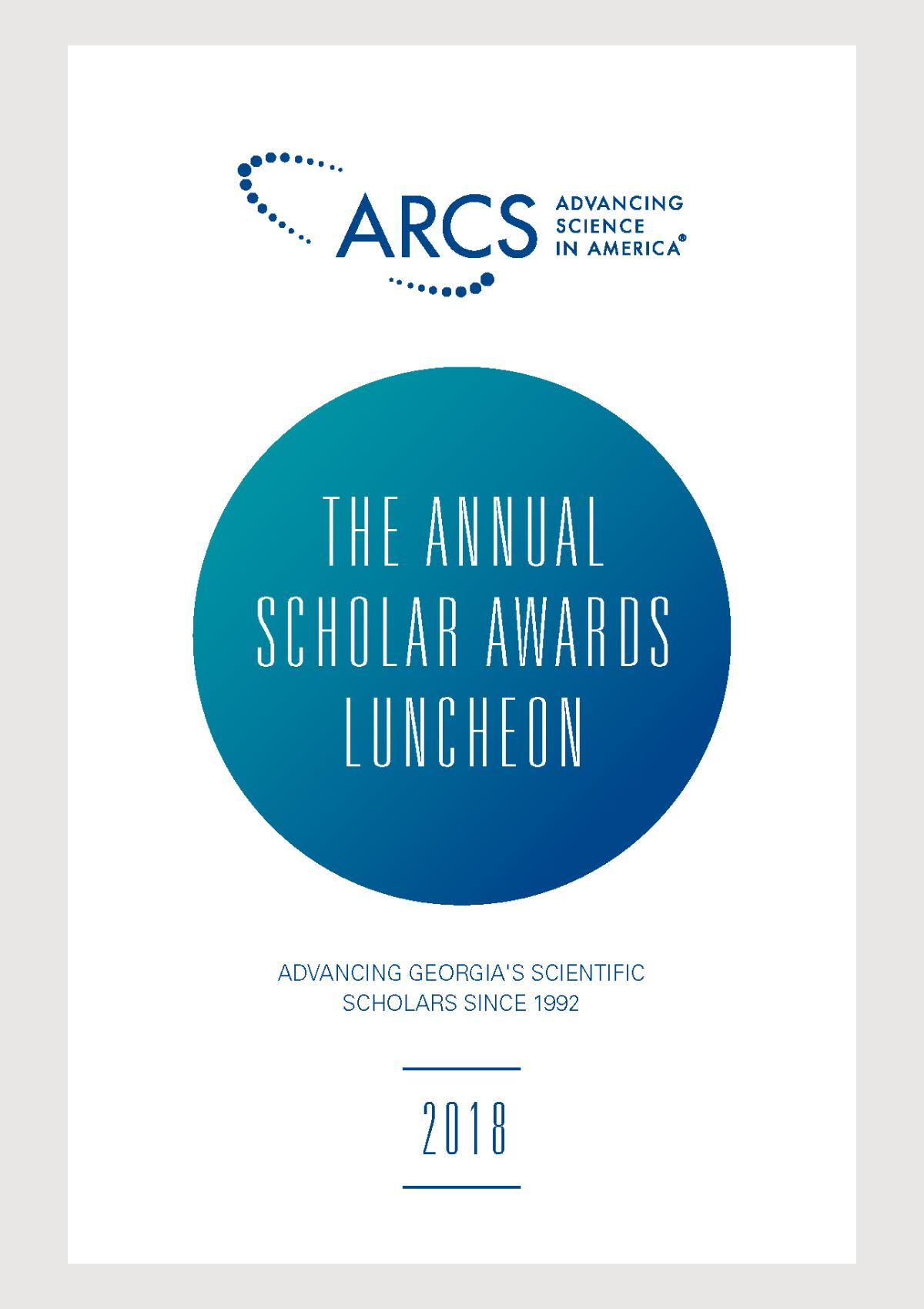 2018 Scholar Yearbook
