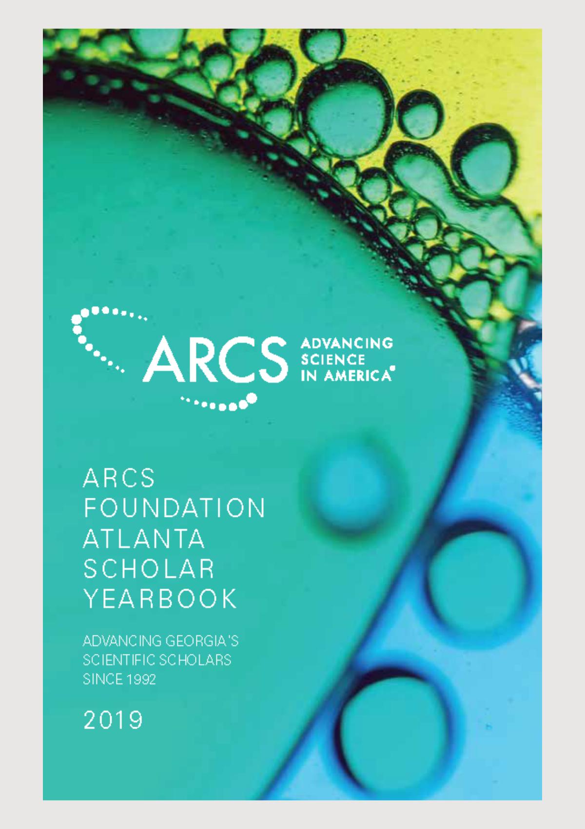 2019 Scholar Yearbook